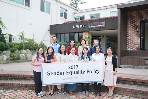 한국양성평등교육진흥원 국외교육 사업 - 캄보디아 여성부 공무원 본부 방문